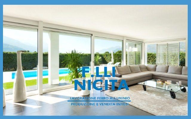 offerta progettazione infissi-promozione finestre  alluminio pvc legno- Nicita reggio calabria
