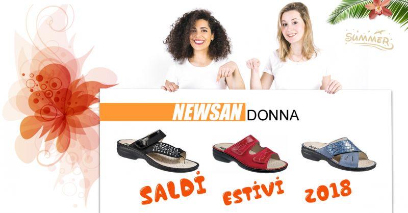 Offerta vendita calzature Newsan collezione primavera estate 2018  a Treviso - Sanitaria Asm