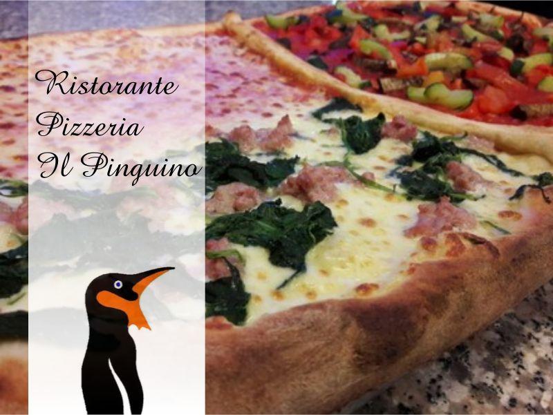 offerta pizza al metro porlezza-promozione pizzeria como-il pinguino ristorante