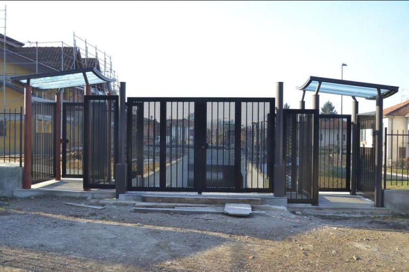 Offerta realizzazione cancelli balaustre tettoie - Promozione parapetti recinzioni Milano