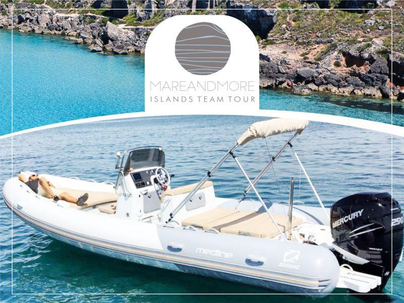 Offerta Noleggio Gommoni Trapani Isole Egadi - Promozione Affiitto barche Favignana Levanzo