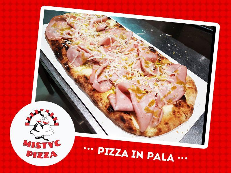 offerta pizza in pala - promozione pizza cotta a legna - occasione pizza asporto - mystic pizza
