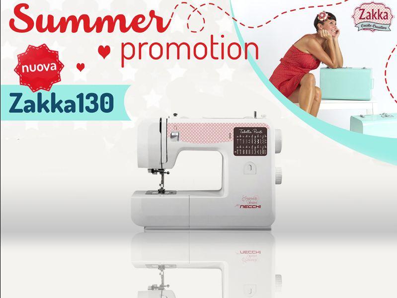 Offerta macchina per cucire Zakka 130 - Promozione Zakka 130 Necchi- Cucitomania