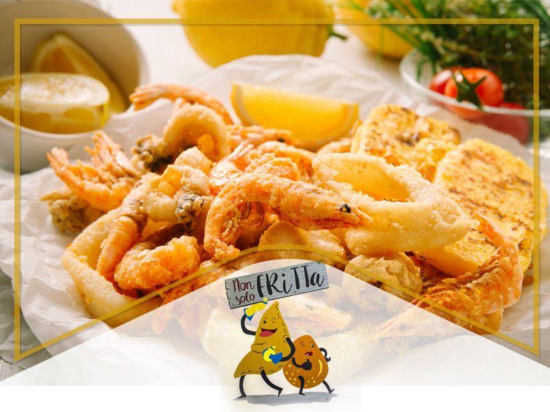 Offerta frittura di pesce - promozione pesce fritto - Occasione friggitoria - Non Solo Fritta