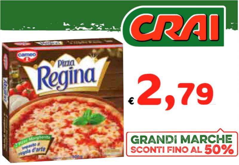 offerta pizza margherita regina Premariacco - promozione prodotti supermercato crai Premariacco
