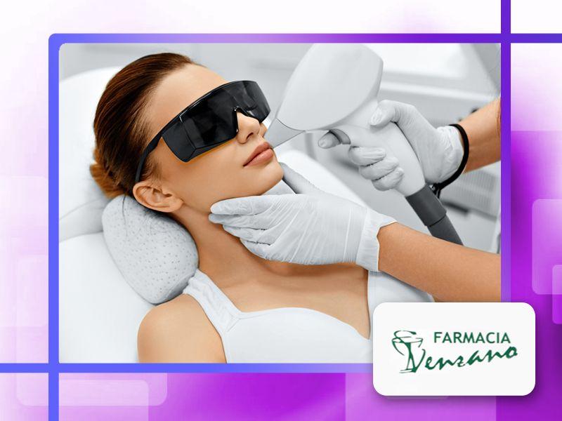 offerta epilazione permanente laser farmacia - promozione trattamento laser farmacia venzano