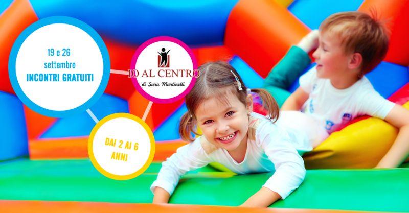 offerta incontri gratuiti psicomotricita funzionale bimbi - io al centro nuovi  corsi settembre