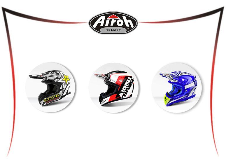 Offerta Vendita Caschi Airoh Ugento - Promozione casco Airoh Off road Ugento Nicolardi Moto