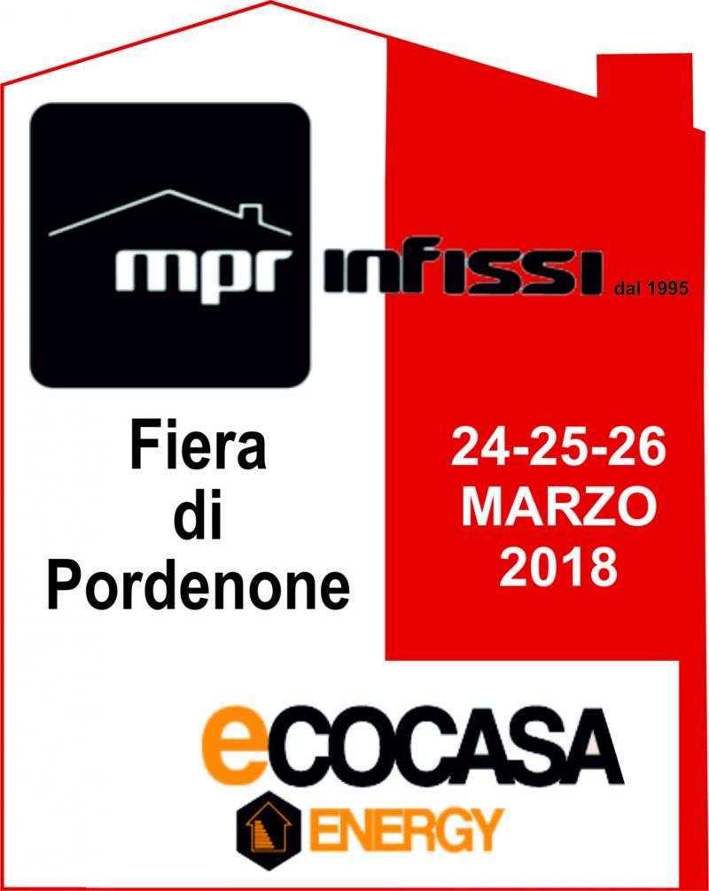 Offerta infissi porte finestre Pordenone - Promozione mpr infissi fiera ecocasa