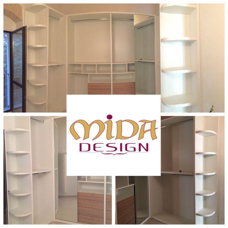 offerta cabina armadio misura bianca Bari promozione guardaroba bianco personalizzato Mida Desi