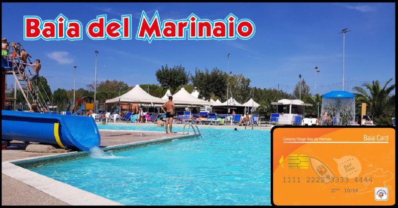 CAMPING BAIA DEL MARINAIO bietet Urlaub am Meer in der Toskana auf dem Campingplatz