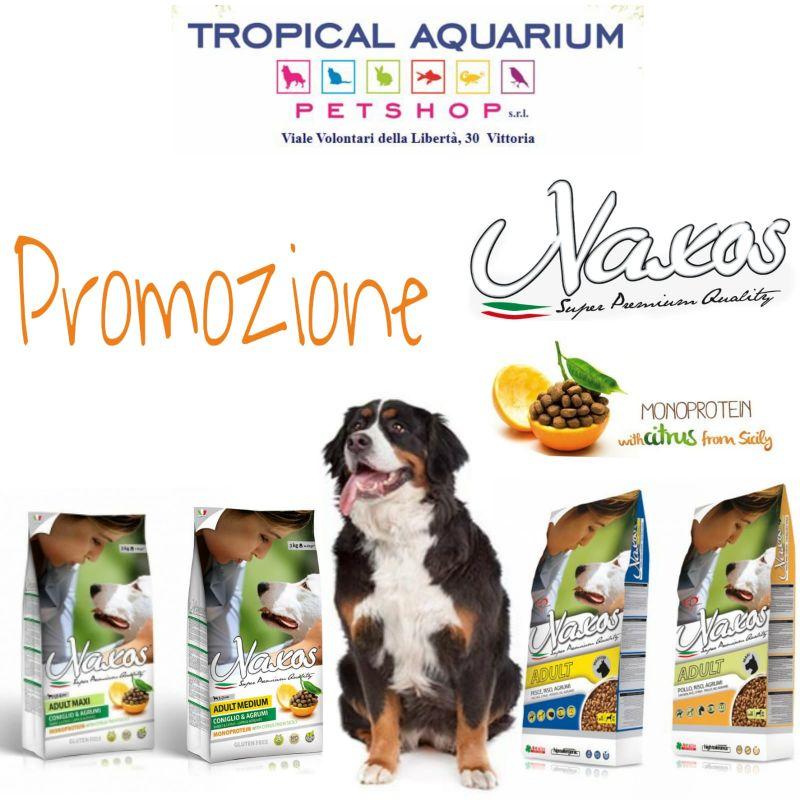 Promozione Naxos mangime per cani da Tropical Aquarium Petshop