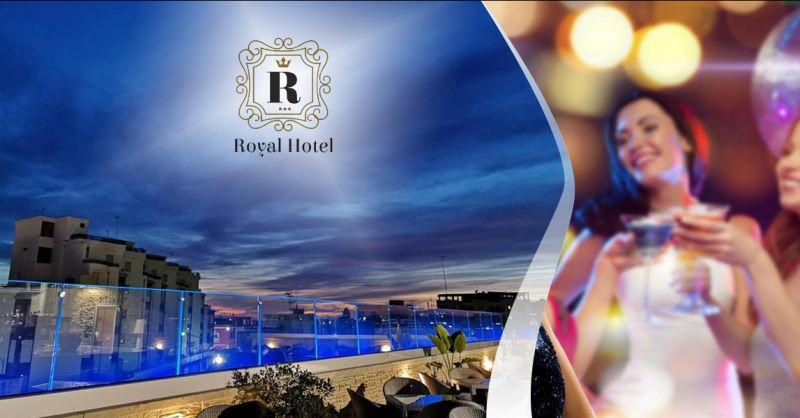 Offerta organizzazione feste di compleanno ed eventi in terrazzo a Porto Cesareo - Hotel Royal