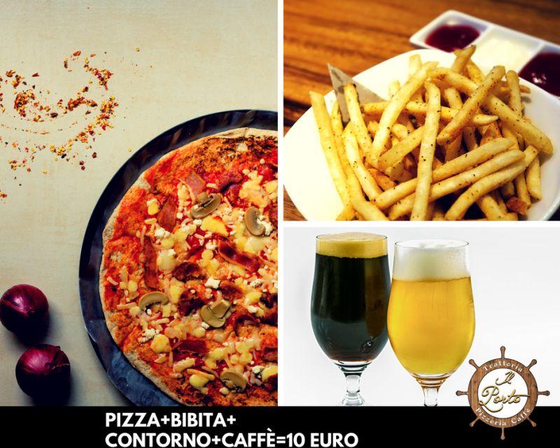 Il Porto Trattoria Pizzeria Caffè - Menù Pizza