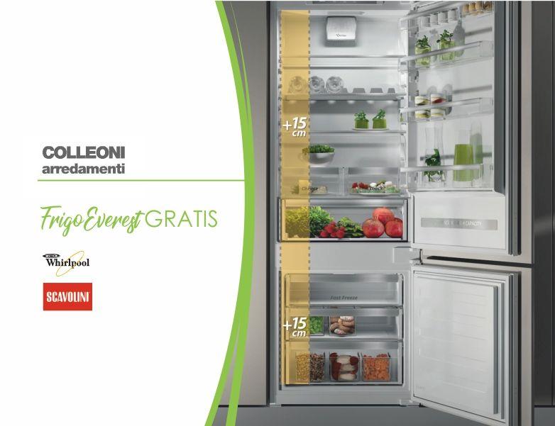 offerta frigo whirlpool colleoni arredamenti bergamo-promozione frigorifero everest bergamo