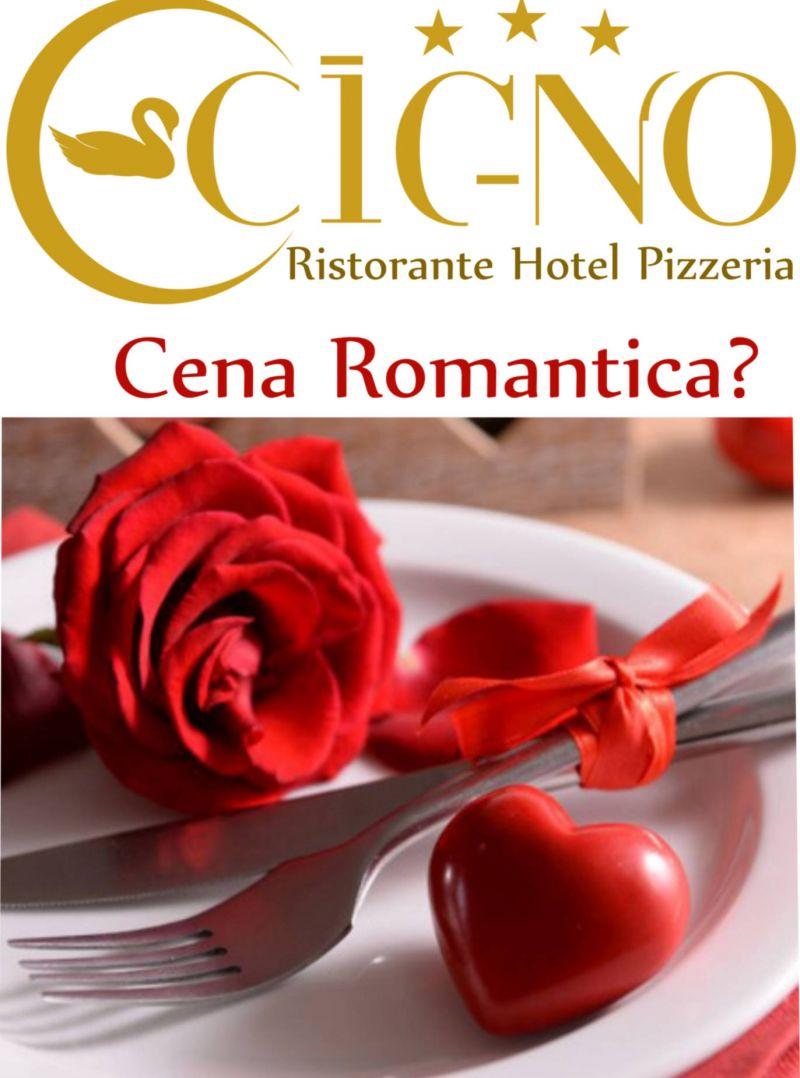Offerta cena romantica Ristorante il Cigno
