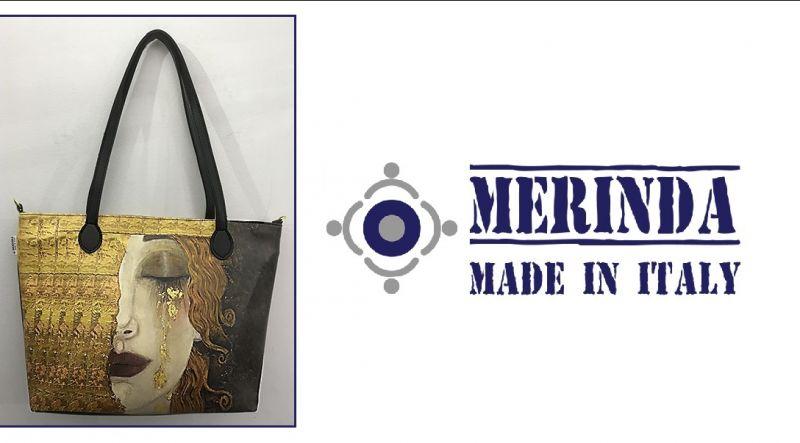 MERINDA occasione vendita online borsa tracolla linea arte made in italy Lacrime di Freyja