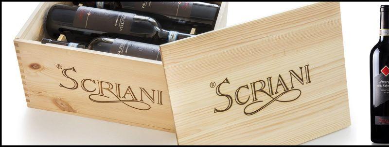 offerta SCRIANI produzione Ripasso Valpolicella - Occasione produzione vendita vini italiani