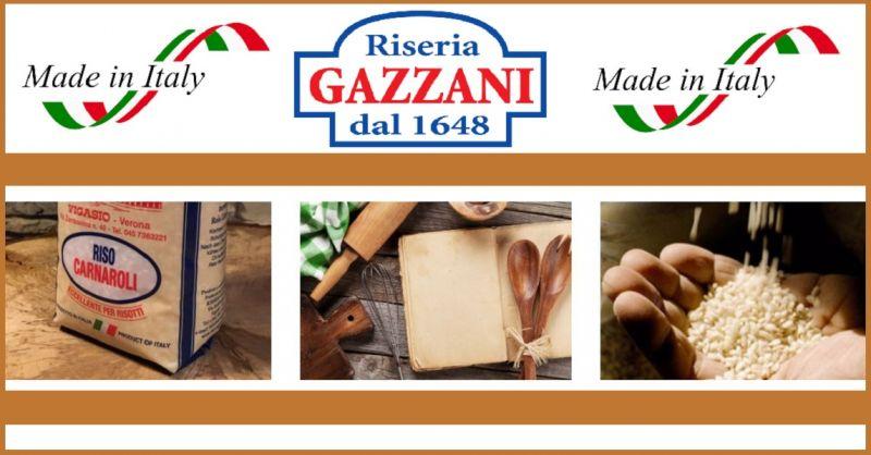 Riseria Gazzani - Selezione migliori aziende italiane che producono riso artigianale Carnaroli