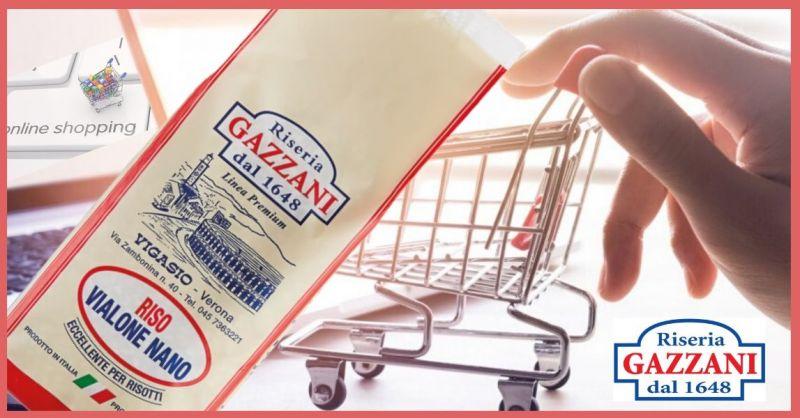 RISERIA GAZZANI 1648 - Offerta vendita online miglior Riso Vialone Nano Linea Premium made Italy