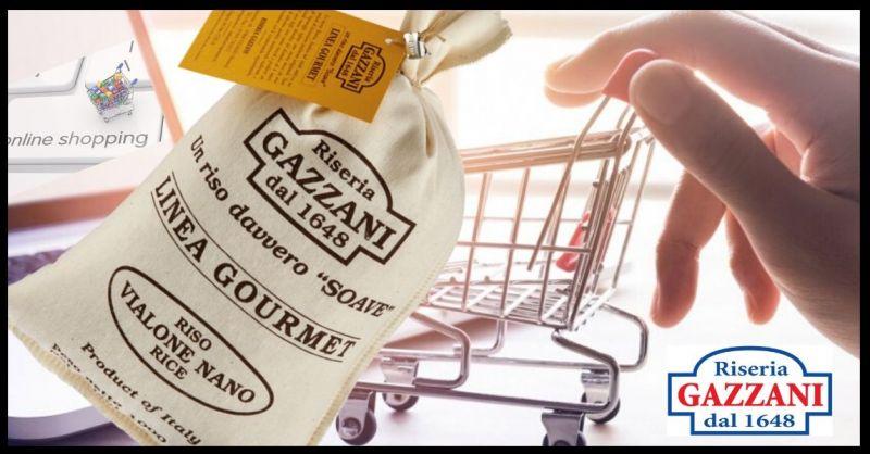 RISERIA GAZZANI 1648 - Offerta vendita online miglior RISO VIALONE NANO LINEA GOURMET made Italy