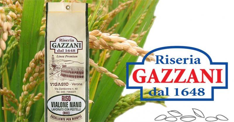 Offerta produttori italiani riso VIALONE NANO Lavorato con Pestelli - Occasione Vendita online Riso lavorato a mano