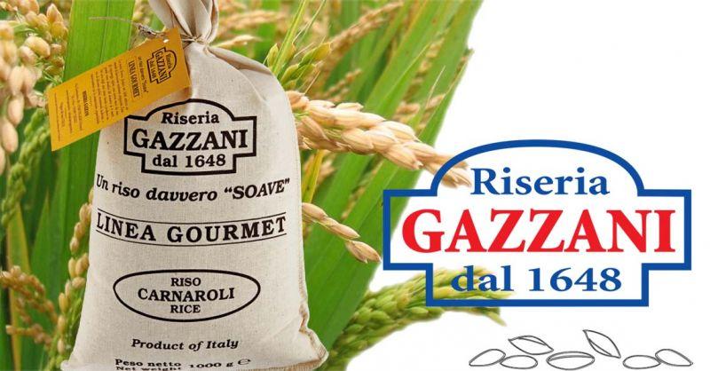 Offerta produttori italiani di riso - Occasione Vendita Riso Varietà Carnaroli Linea Gourmet