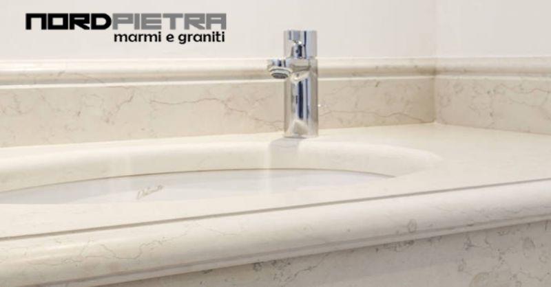 Offerta realizzazione scale in pietra como - Occasione bagni in marmo Como