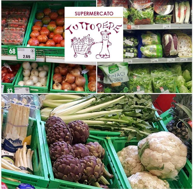 TUTTO PEPE offerta alimenti freschi di qualità frutta e verdura occasione salumi e formaggi