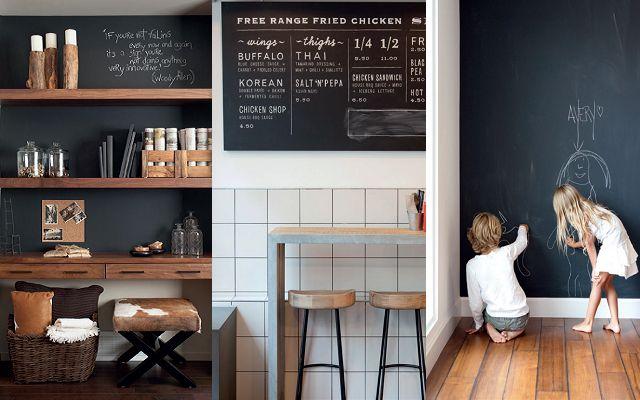 Pareti Di Lavagna : Idee per decorare le pareti della tua casa arredobene