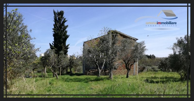 ORTONAIMMOBILIARE – For sale. Building to be completed, located in an olive grove. Contrada Casone.