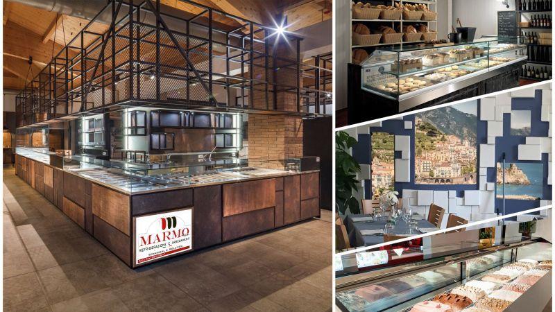 MARMO SRL - offerta progettazione arredamento locali commerciali salerno