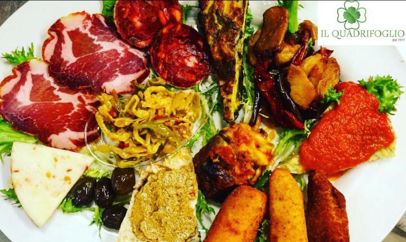 Offerta ristorante pizzeria Quadrifoglio Lamezia Terme Catanzaro pranzo cena prodotti tipici