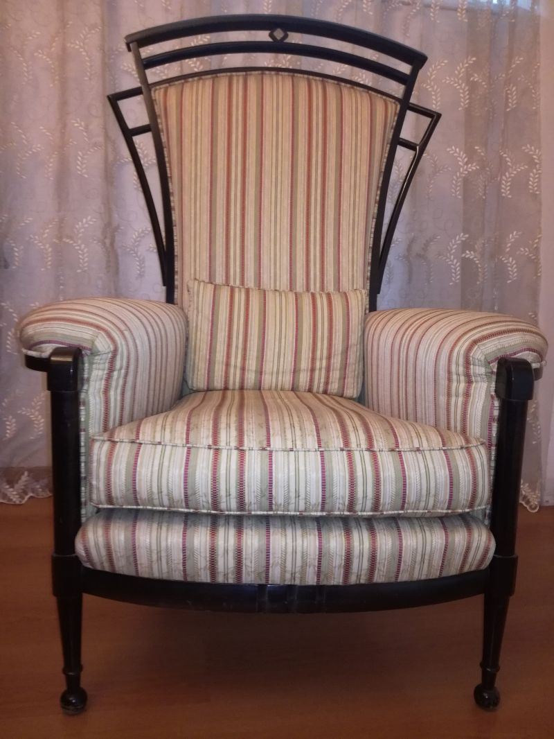 SILLUZIO ARREDAMENTI Exceptional offering classic armchair