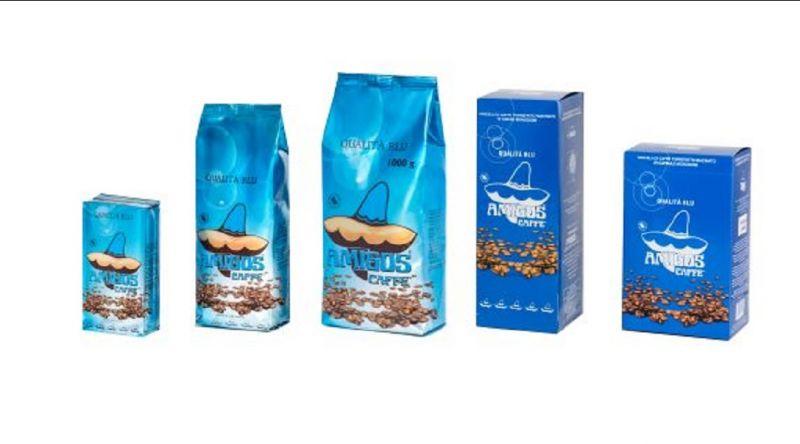 Amigos Caffè offerta caffè italiano in grani macinato in cialde e in capsule.