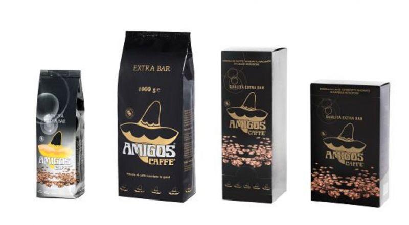 Amigos Caffè offerta vendita caffè italiano in grani macinato in cialde e in capsule