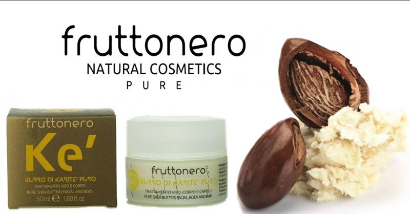 Fruttonero offerta crema viso burro di Karitè puro - occasione prodotti per pelli sensibili bio