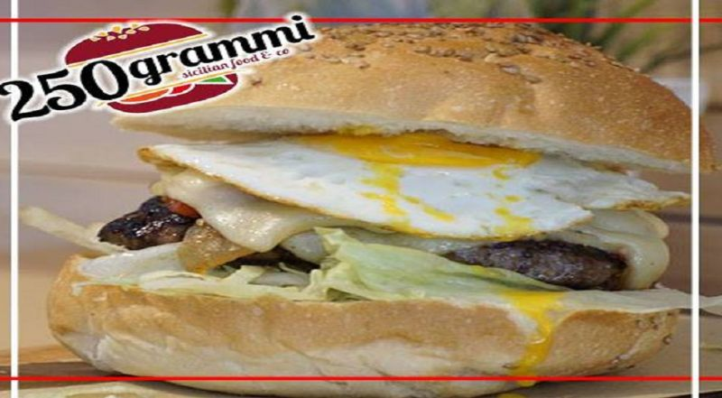 250 GRAMMI offerta hamburger - occasione panineria Catania