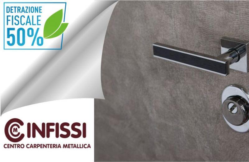 CENTRO CARPENTERIA METALLICA NARBOLIA - DETRAZIONI FISCALI ACQUISTO PORTE BLINDATE E INFISSI