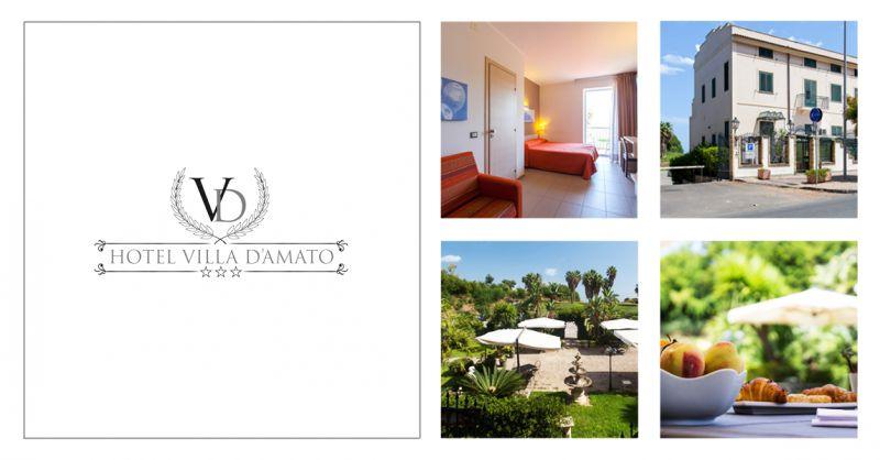 Hotel Villa D Amato offerta hotel vista mare palermo - occasione hotel con parcheggio palermo
