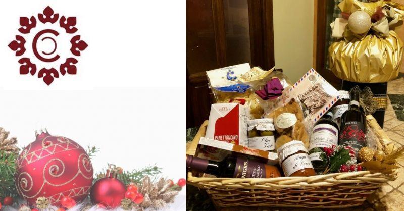 Cantina Caio offerta vendita confezioni natalizie privati e aziende - occasione enoteca Novara