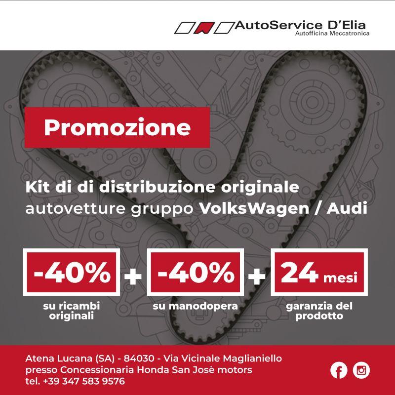 Super Offerta Kit cinghia di distribuzione Originale Volkswagen/Audi.