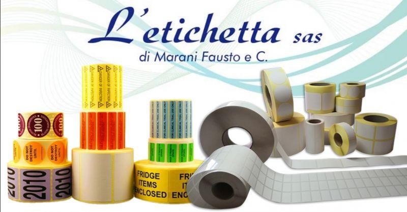 offerta produzione etichette in rotolo Verona - occasione servizio stampa su etichette Verona