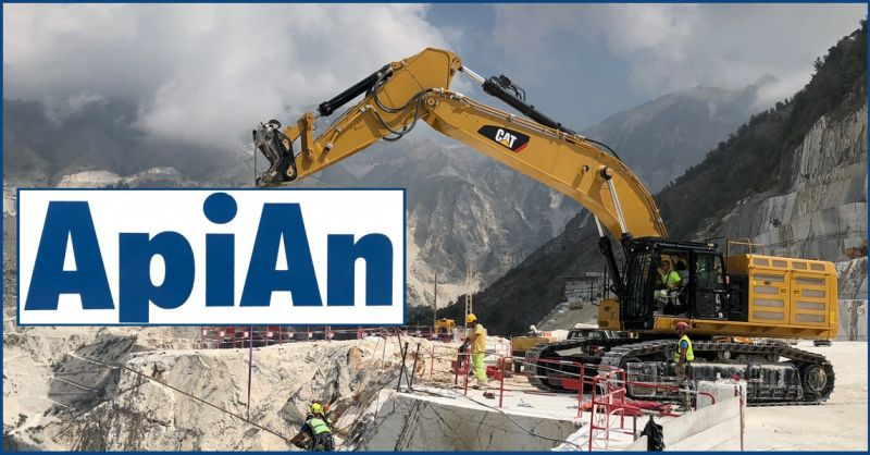 API-AN SOC. COOP - marble quarries sector  EXPERT ITALIAN COMPANY IN SECURING ROCK/CLIFF FACES