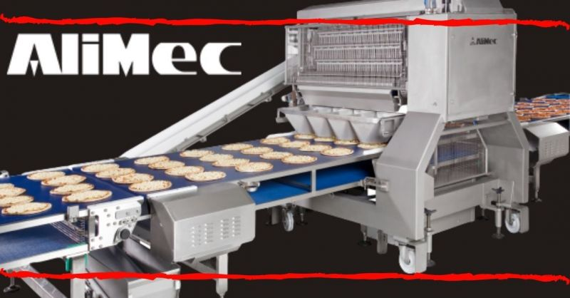 ALIMEC - Automatic line for Pizza Topping - Best automatic pizza topping line production company