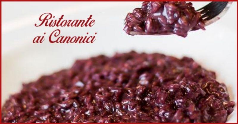 Ristorante AI CANONICI - Trova dove mangiare migliore risotto all'amarone in provincia Vicenza
