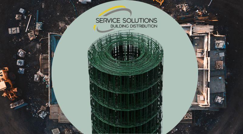 SERVICE SOLUTIONS – offerta vendita rete recinzione elettrosaldata plastificata