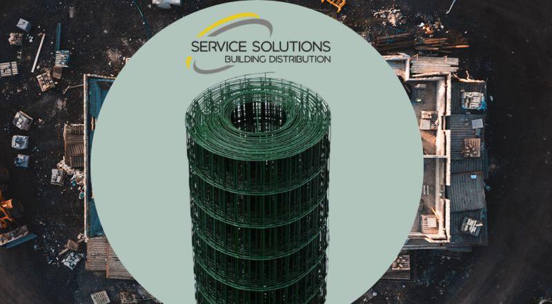 SERVICE SOLUTIONS negozio online dedicato all'edilizia – offerta vendita rete recinzione elettrosaldata plastificata