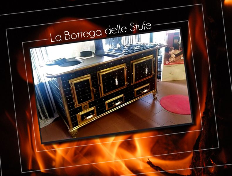 Offerta Vendita Stufa cucina a legna e gas professionale vicino Torino - La Bottega delle Stufe