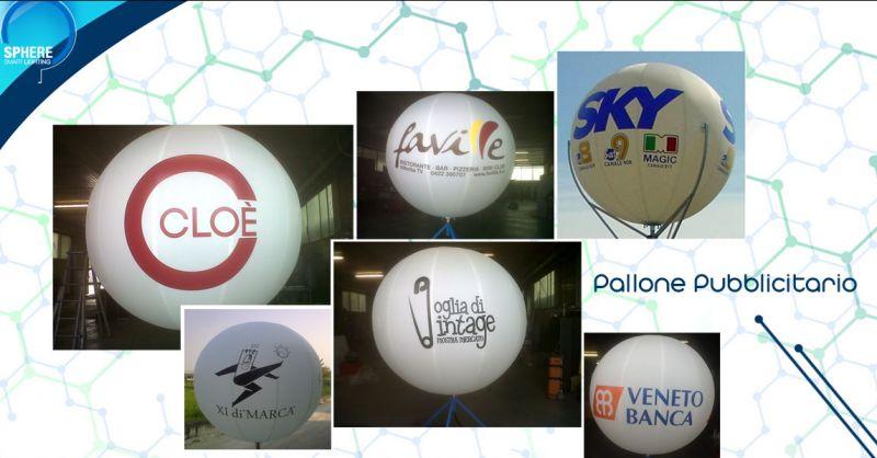 Offerta servizio realizzazione palloni pubblicitari per aziende Villorba - Sphere srl